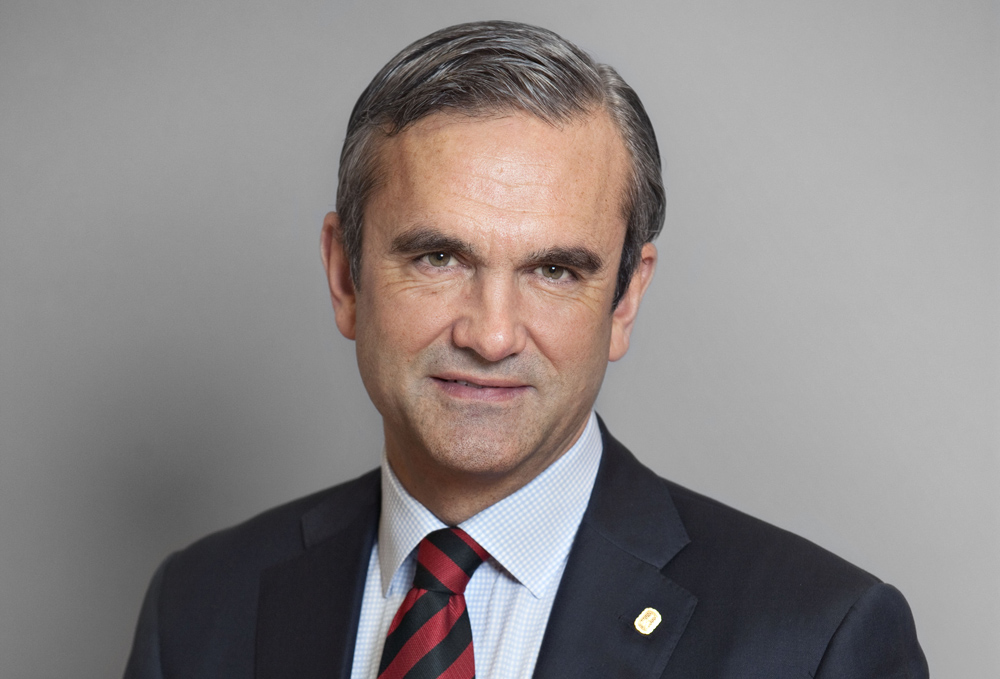 Johan Skoglund, vd för JM.