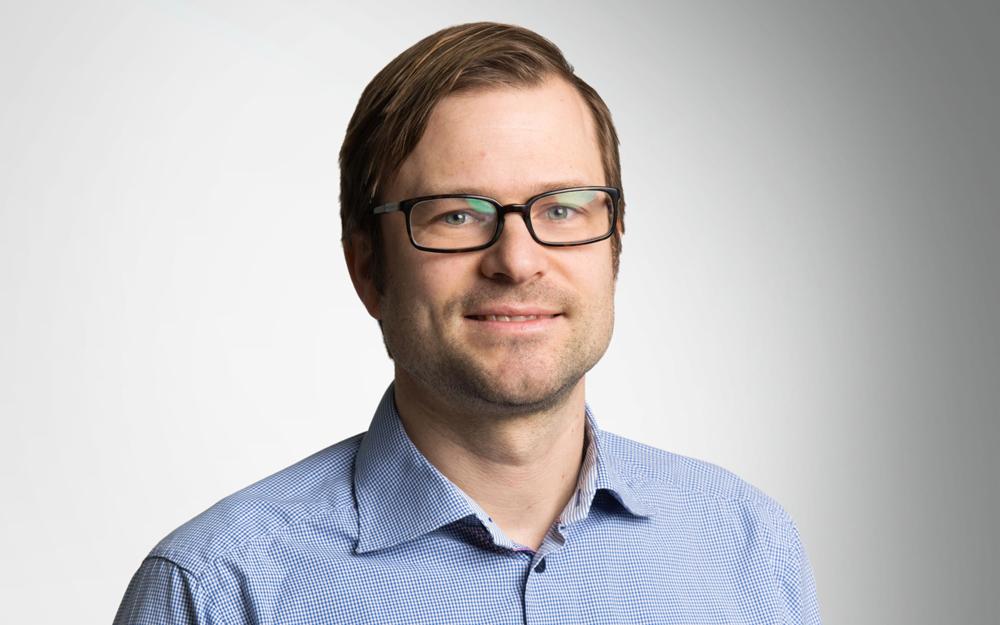 Göran Eckerbom, civilingenjör på JM. Foto: Mikael Gillis Ekstrom