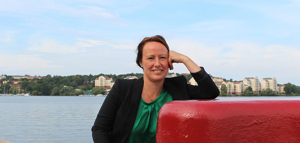 Jenny Edfast, civilingenjör på Rejlers.