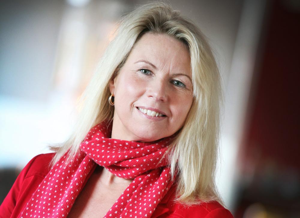 Ann-Catrine Zetterdahl, generaldirektör på Sjöfartsverket.