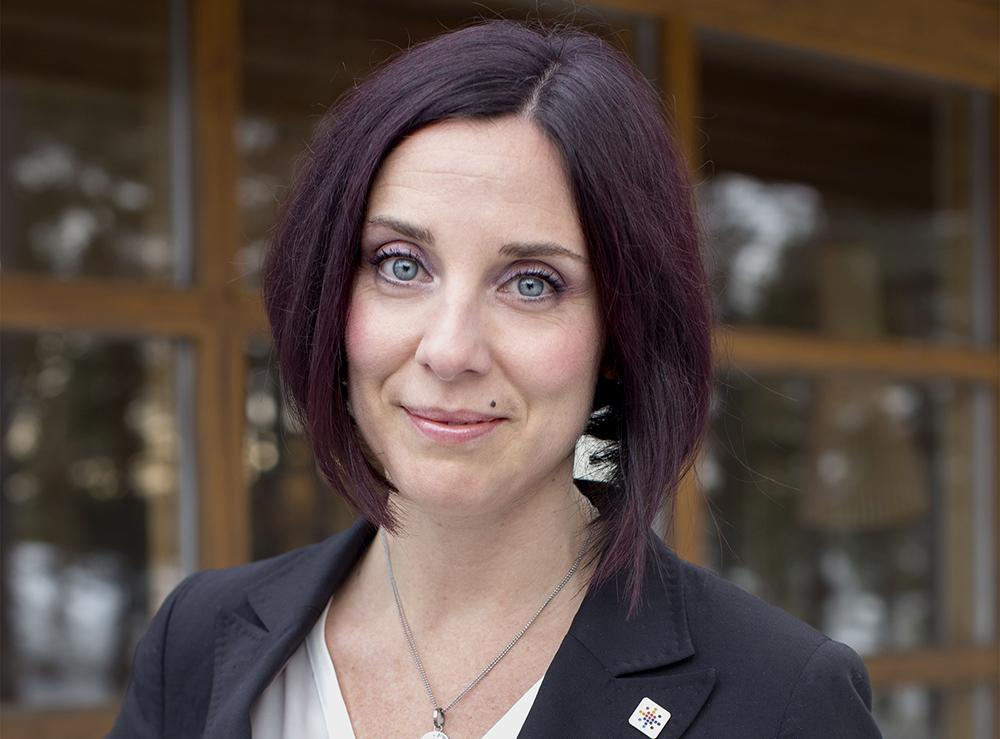 Ulrika Lindstrand, ordförande i Sveriges Ingenjörer. Foto: Sveriges Ingenjörer/Pernilla Pettersson