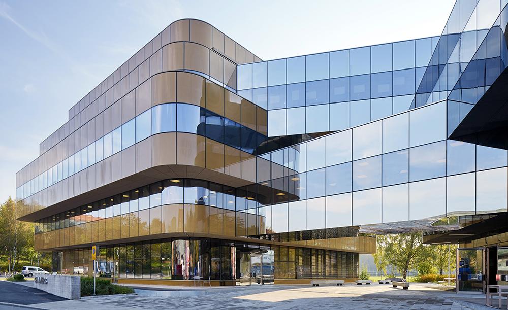 HSB Göteborg flyttade nyligen sitt huvudkontor till Chalmersområdet för att öka samverkan och komma närmare forskningen. Foto: White arkitekter/Åke E:son Lindman