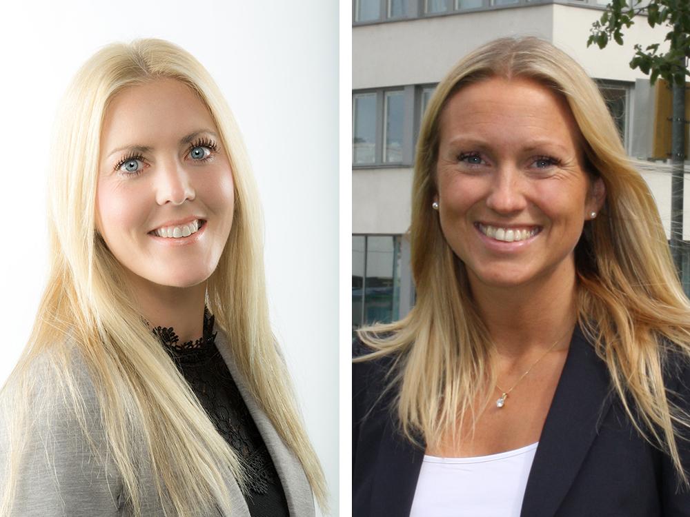 Emelia Antonsson och Jenny Sjöborg ser gärna fler kvinnor i byggbranschen.
