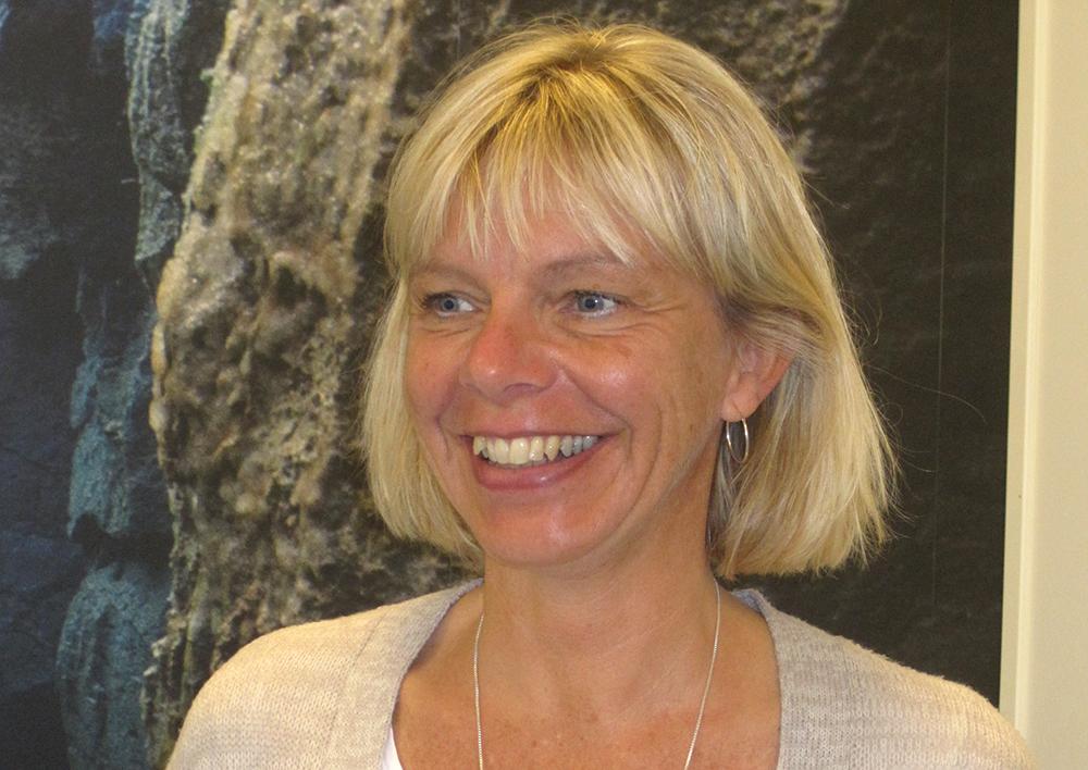 Carola Joelsson, divisionschef för byggprojekt på Regionfastigheter.