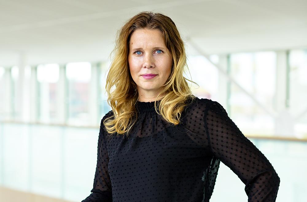 Alexandra Lauren, vice VD och affärsutvecklingsdirektör hos Skanska. Foto: Gonzalo Irigoyen