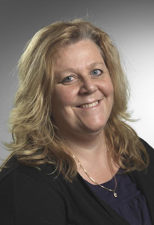 Lena Gillström, vd på BAE Systems Bofors i Karlskoga. Foto: Christer Pöhner / BAE Systems