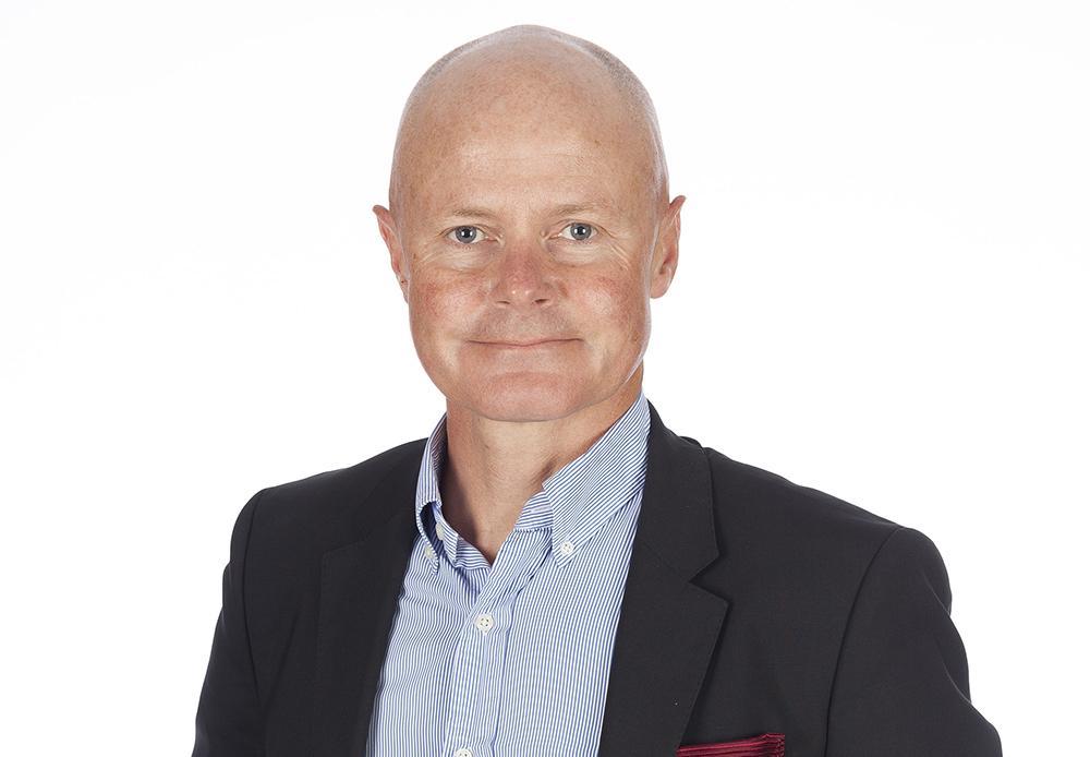 Erik Heilborn, chef för affärsområdet Systems Management på ÅF, med ansvar för försvar och säkerhet samt ICT och telekom. Foto: ÅF