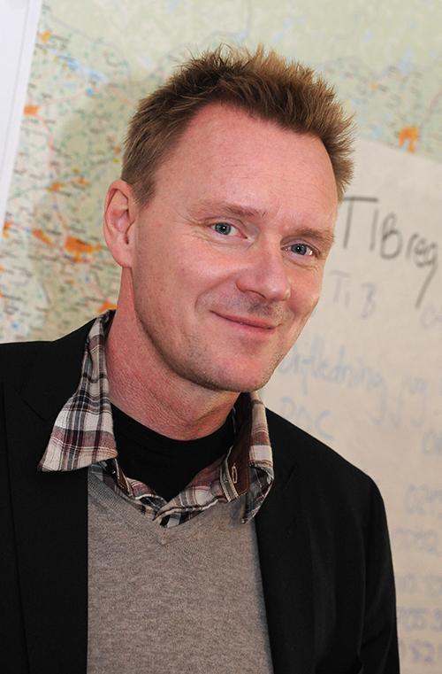 Peter Uneklint, programchef för höghastighetsjärnvägen på Trafikverket. Foto: Kerstin Ericsson