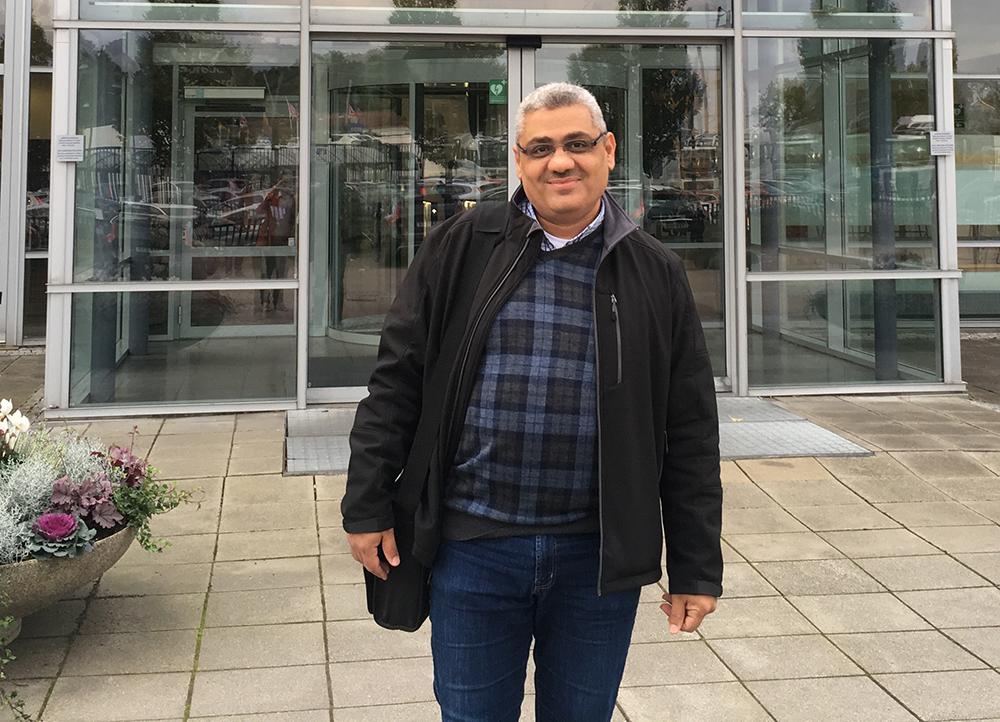 Anas Fattouh, elektroingenjör och forskare på Mälardalens högskola.
