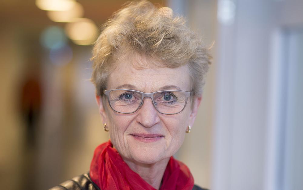 Susanne Ås Sivborg, generaldirektör på Lantmäteriet. Foto: Daniel Vallin