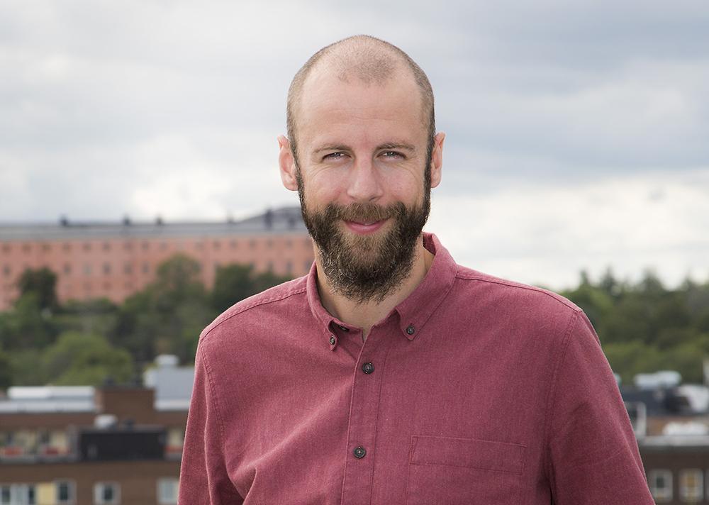 Jonas Svensson, projektledare vid Stadsbyggnadsförvaltningen, Uppsala kommun. Foto: Cina Stenson
