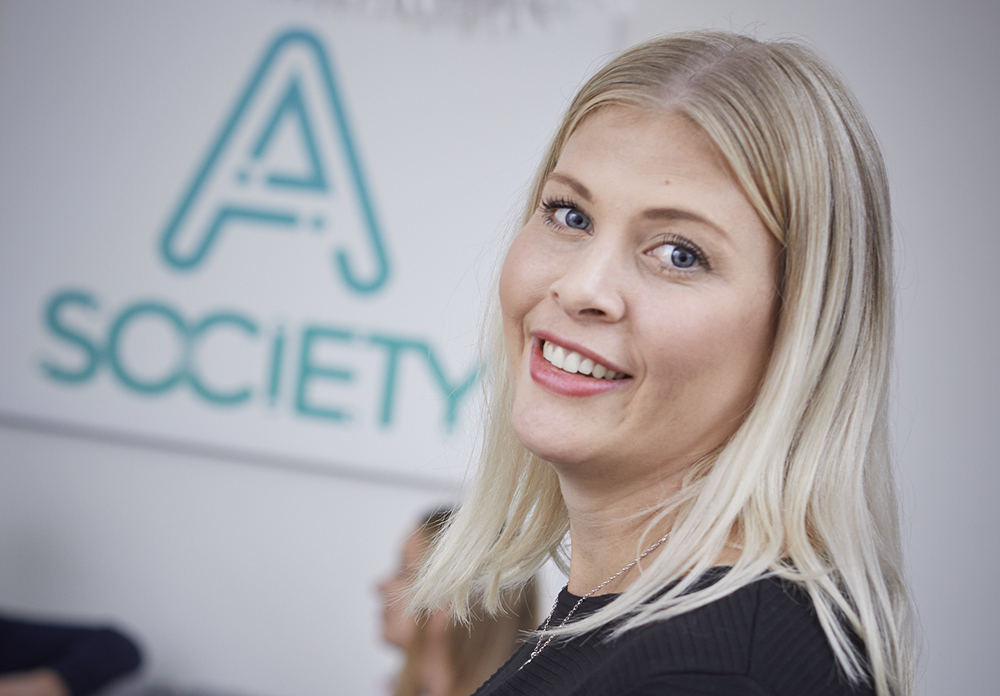 Ann Kryhl, HR-chef på A Society.