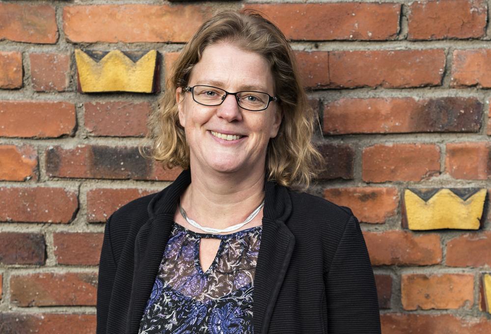 Lisa Andersson arbetar inom CIO-funktionen vid Lednings- och underrättelseavdelningen på Högkvarteret. Foto: Gonzalo Irigoyen