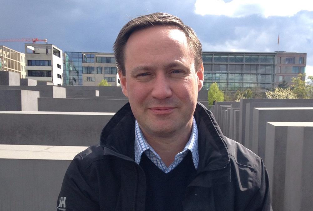 Fredrik Gauffin, sektionschef för underrättelsesystem inom utveckling och applikationsförvaltning på Polisens it-avdelning.