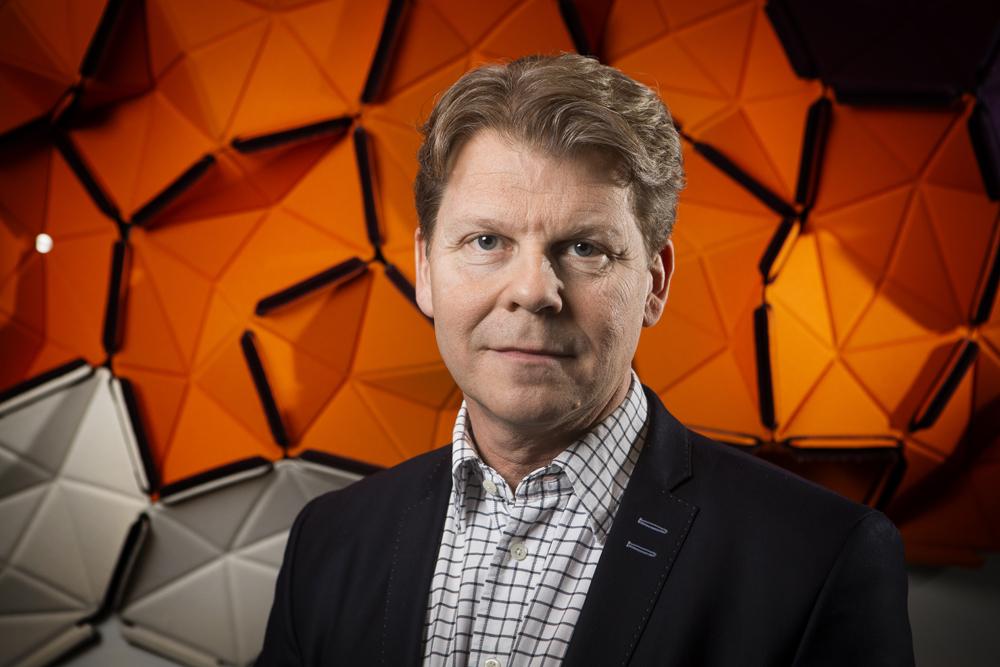 Jerry Eriksson, chef för Systemförvaltningsenheten på förbandet FMTIS. Foto: Johan Marklund