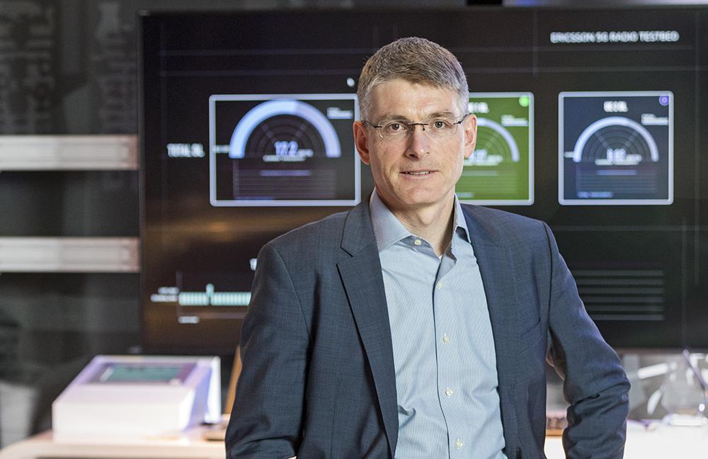 Erik Ekudden, CTO i Ericsson-koncernen. Foto: Gonzalo Irigoyen