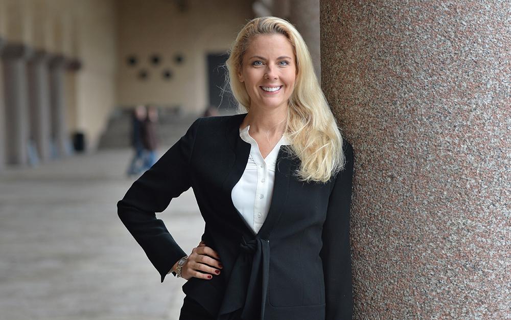 Ann Hellenius, årets CIO 2017. Foto: Jonas Borg