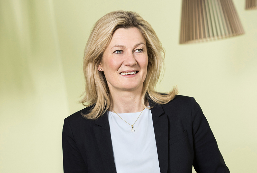 Anna Westerberg, Senior Vice President, Volvo Group Connected Solutions.