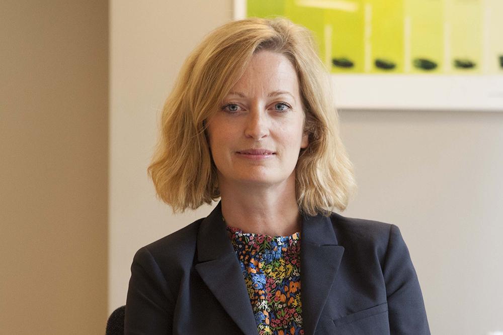 Petra Sundström, ordförande för IoT Sverige.