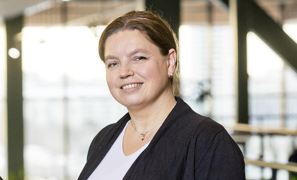 Jenny Fagerstedt Boman, chef för IT Delivery på PostNord. Foto: Gonzalo Irigoyen