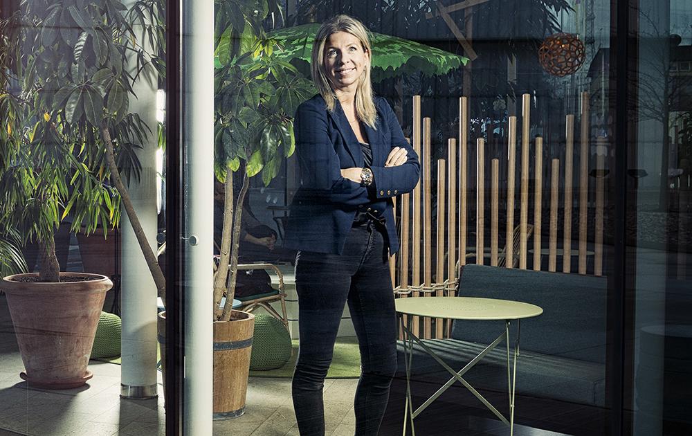 Elena Fersman, forskningschef inom AI på Ericsson. Foto: Daniel Roos