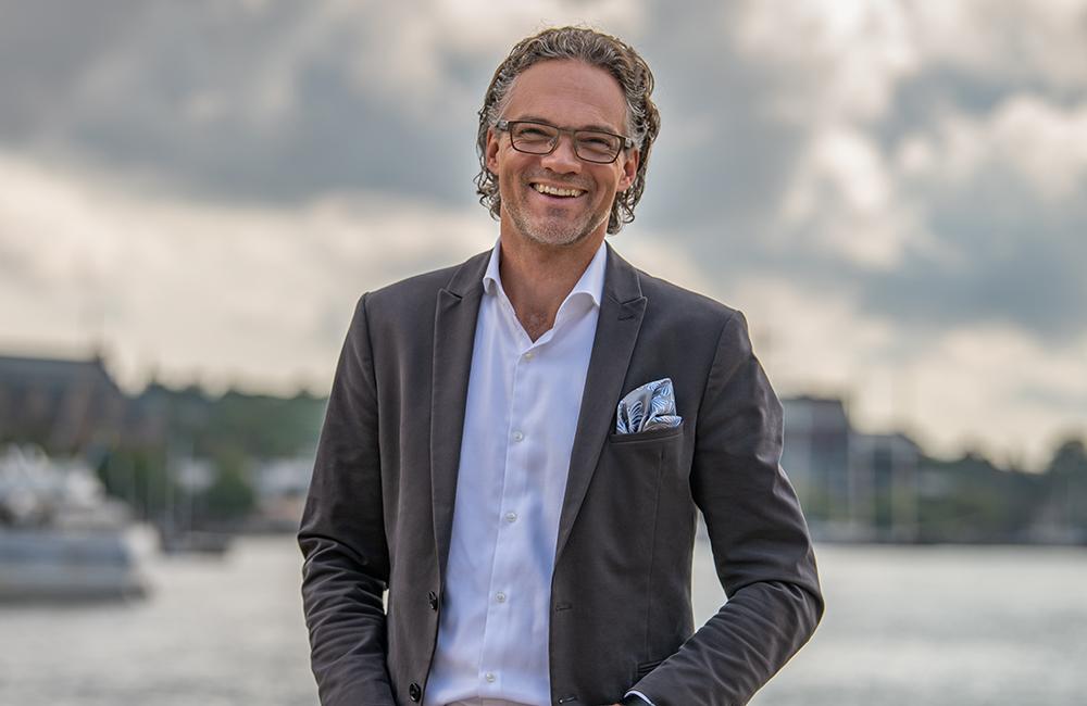 Stephan Erne, CDO på Handelsbanken.