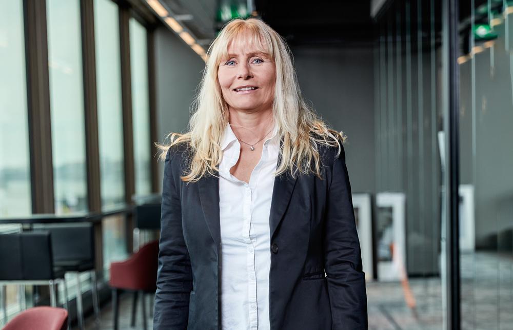 Helena Forsmark, vd för HiQ Stockholm. Foto: Mikael Teng