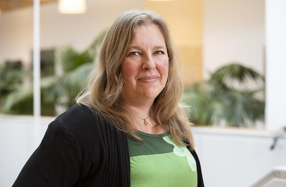 Malin Holmvall, sektionschef hos Kronofogden. Foto: Gonzalo Irigoyen