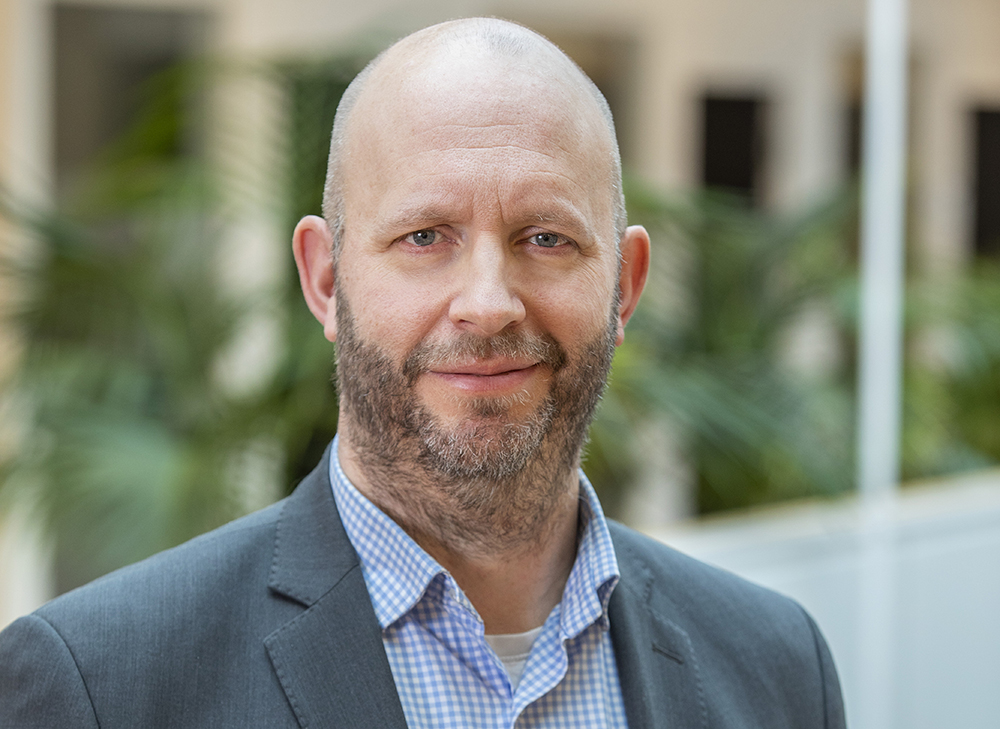 Johan Acharius, it-direktör på Kronofogden. Foto: Gonzalo Irigoyen