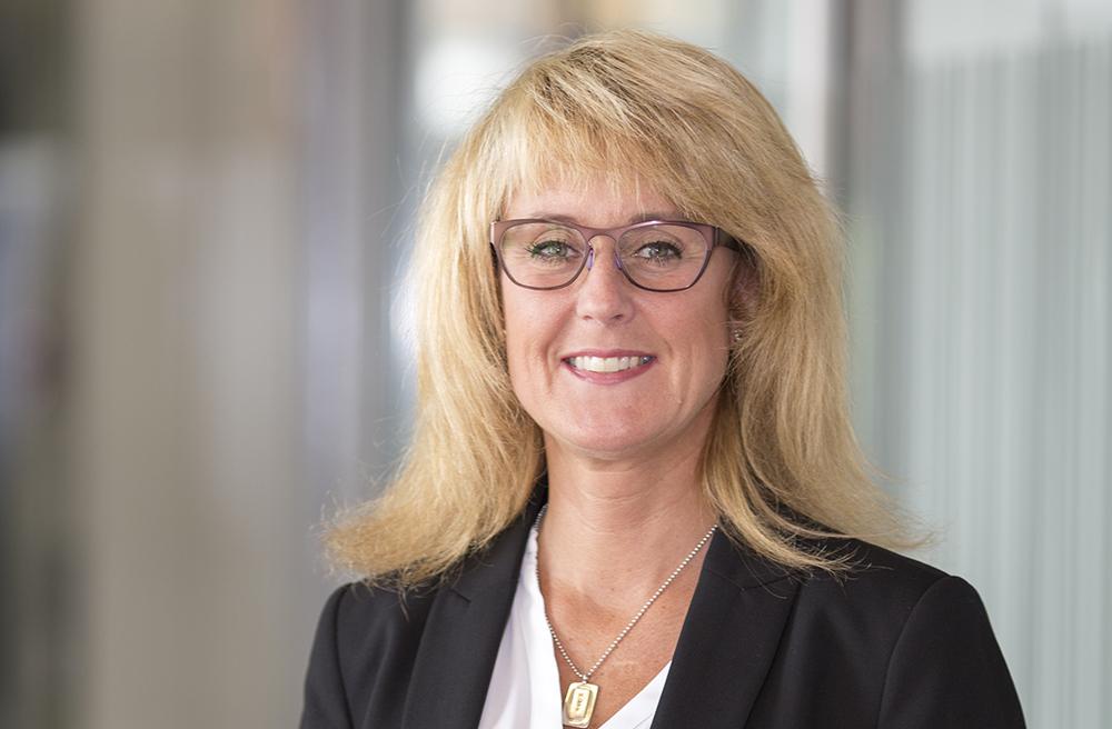 Annika Axelborn, chef för digitaliserings- och innovationsavdelningen på Bolagsverket i Sundsvall. Foto: Bolagsverket