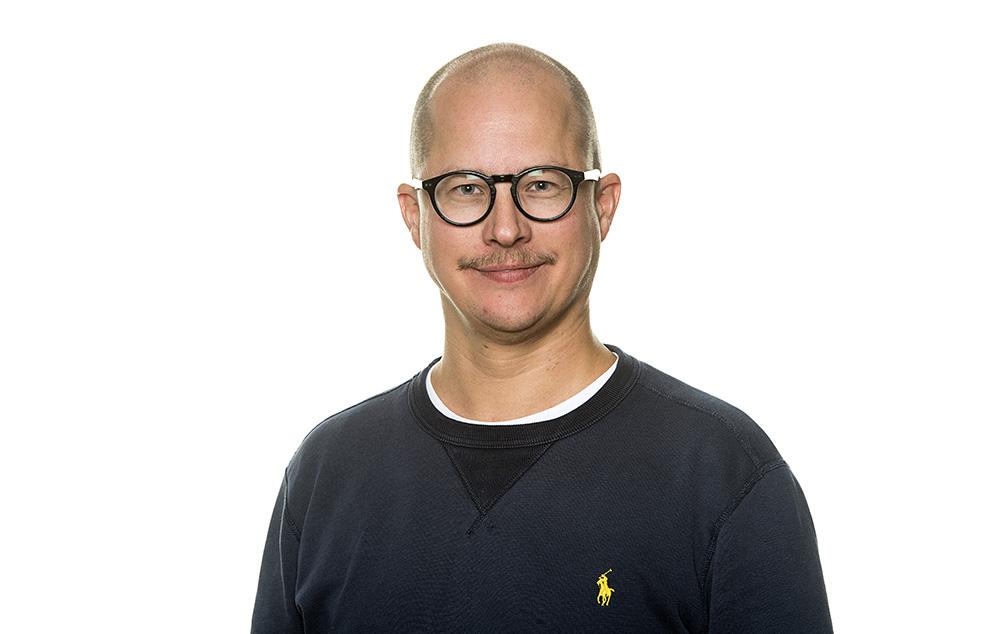 Mattias Karp Gidlöf, expert på automations- och cybersäkerhet. Foto: Jonas Bilberg