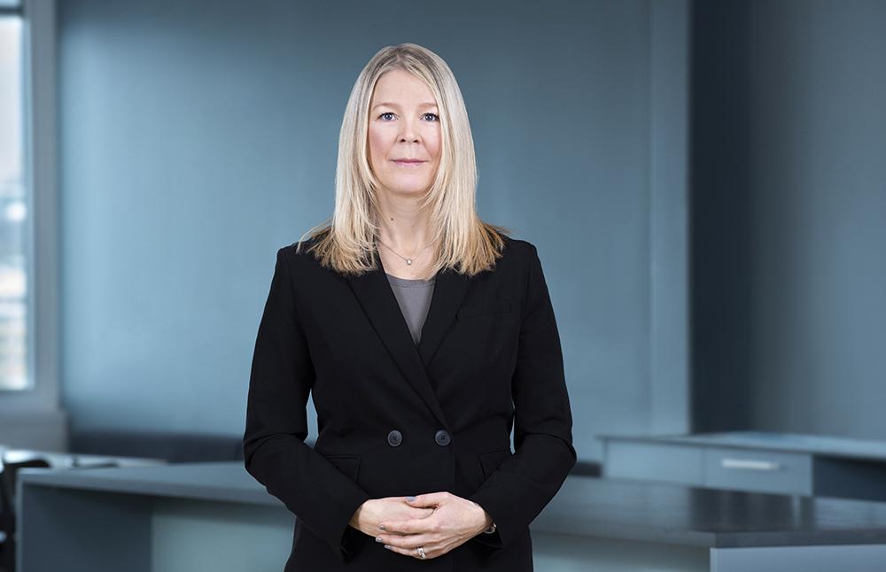 Jenny Gorner jobbar med cybersäkerhet på AFRY i Göteborg.