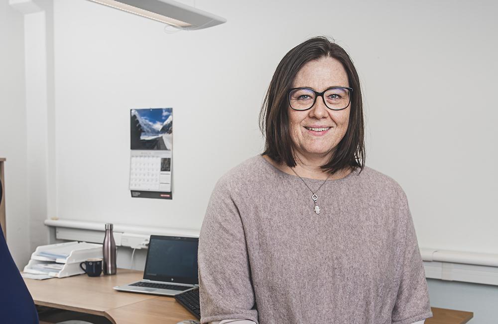 Pernilla Mårtensson, chef för informationssystem på BAE Systems. Foto: Jonas Forsberg