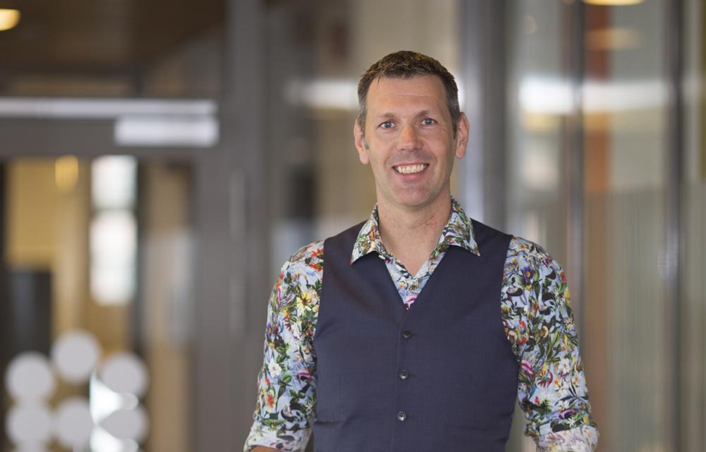 Joel Tostar, IT-chef på Bolagsverket.
