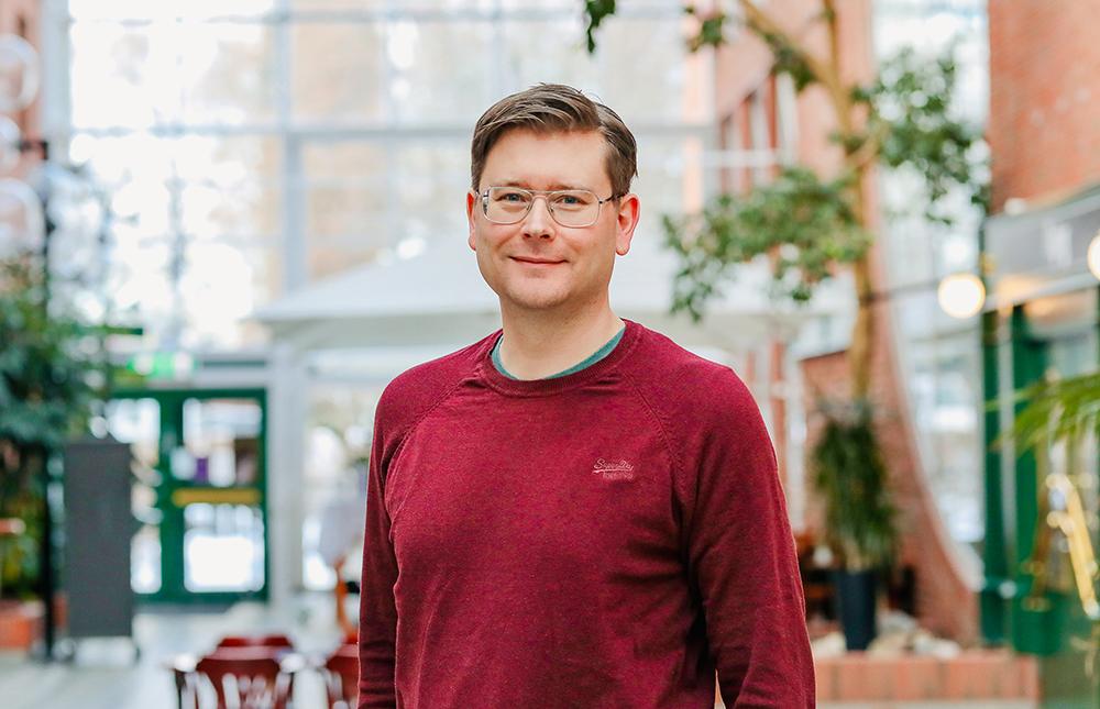 Anders Toms, it-arkitekt i på Transportstyrelsen. Foto: Ulrika Lundholm Ericsson